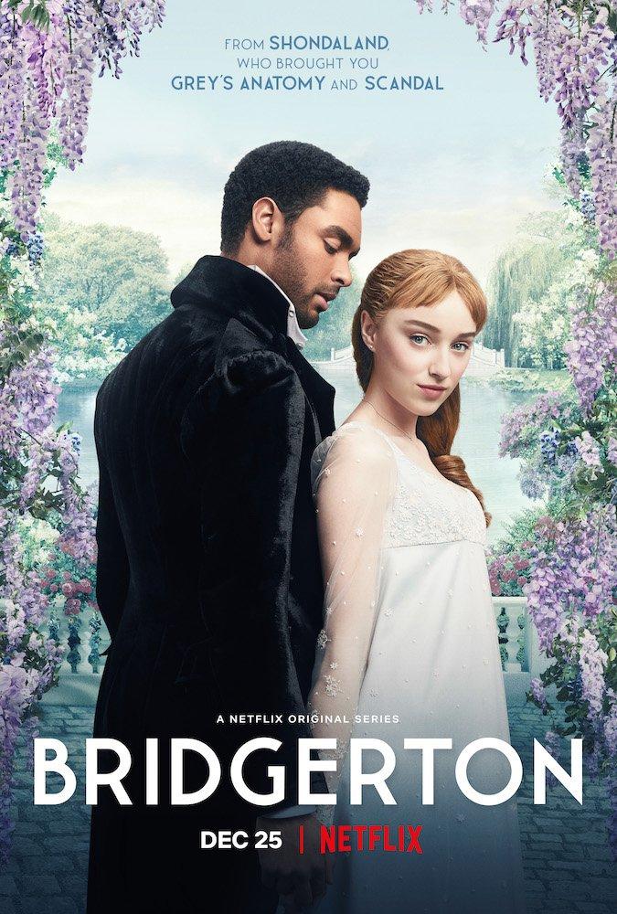 Affiche de Bridgerton, la série Netflix de Shondaland