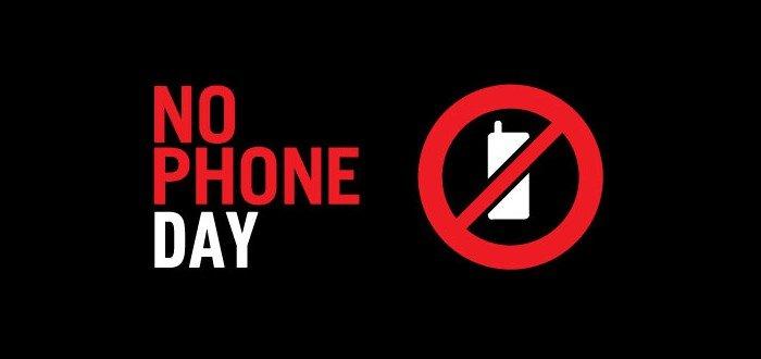 no phone day