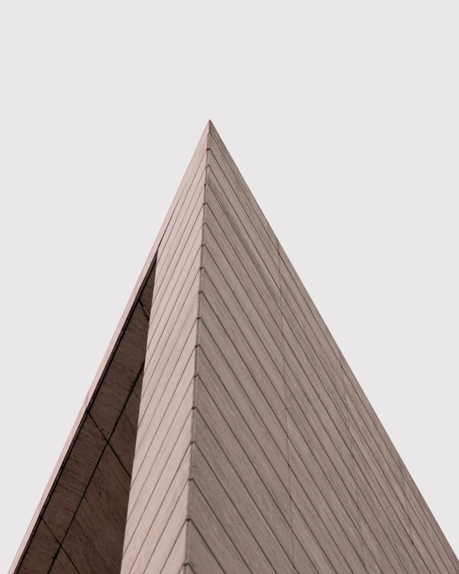 Pyramide à chevrons